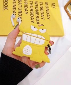 Tohato Yellow Premium AirPods Case Shock Proof Cover