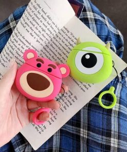 Toy Story Lotso 'Round' Premium AirPods Case Shock Proof Cover