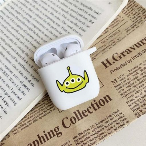 Toy Story Martians Comic AirPods Case Shock Proof Cover