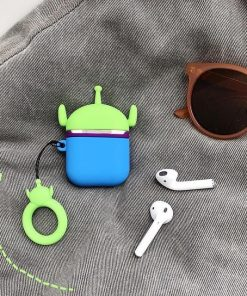 Toy Story Squeeze Toy Aliens Pizza Planet Martian Premium AirPods Case Shock Proof Cover