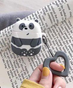 We Bare Bears Panda Premium AirPods Case Shock Proof Cover