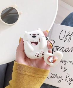 We Bare Bears Polar Ice Bear Premium AirPods Case Shock Proof Cover