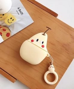 White Pear Premium AirPods Case Shock Proof Cover