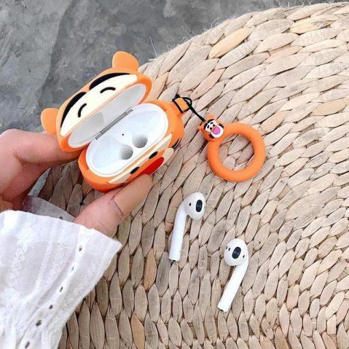 Winnie the Pooh 'Tigger' Premium AirPods Case Shock Proof Cover