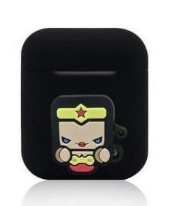 Wonder Woman Black AirPods Case Shock Proof Cover