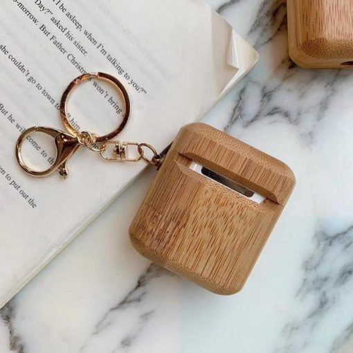 Wood Premium AirPods Case Shock Proof Cover