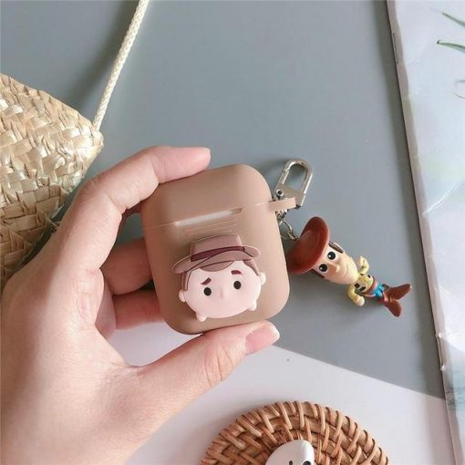 Woody AirPods Case Shock Proof Cover