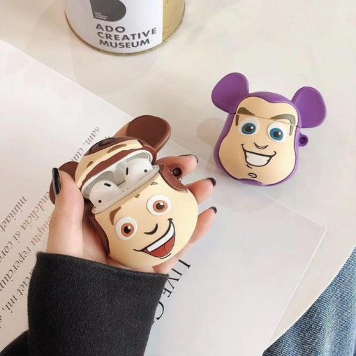 Woody Mouse Ears Premium AirPods Case Shock Proof Cover