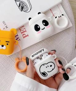 Yellow Bear AirPods Case Shock Proof Cover
