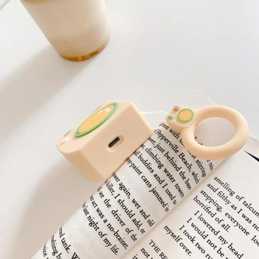 Yellow Bear Camera AirPods Case Shock Proof Cover