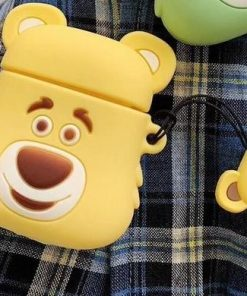 Yellow Bear Premium AirPods Case Shock Proof Cover