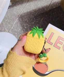 Yellow Pineapple Premium AirPods Case Shock Proof Cover