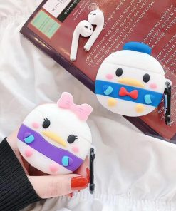 Baby Daisy Duck Premium AirPods Case Shock Proof Cover