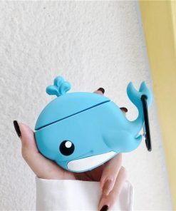 Blue Whale Premium AirPods Case Shock Proof Cover