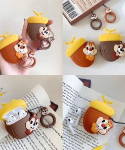 Chip and Dale 'Chip' Premium AirPods Case Shock Proof Cover