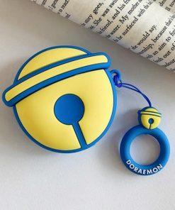 Doraemon 'Blue Bell' Premium AirPods Case Shock Proof Cover