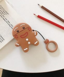GingerBread Man Cookie Premium AirPods Case Shock Proof Cover