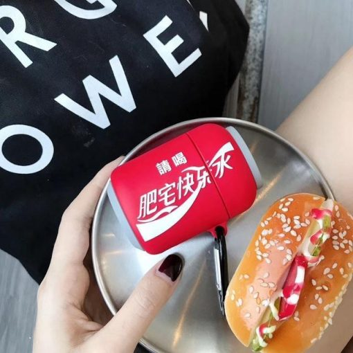 Japanese Coca Cola Premium AirPods Case Shock Proof Cover