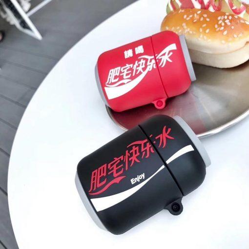 Japanese Coke Zero Premium AirPods Case Shock Proof Cover