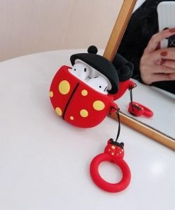Lady Bug Premium AirPods Case Shock Proof Cover