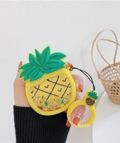 Pineapple 'Snow Globe Belly' Premium AirPods Case Shock Proof Cover
