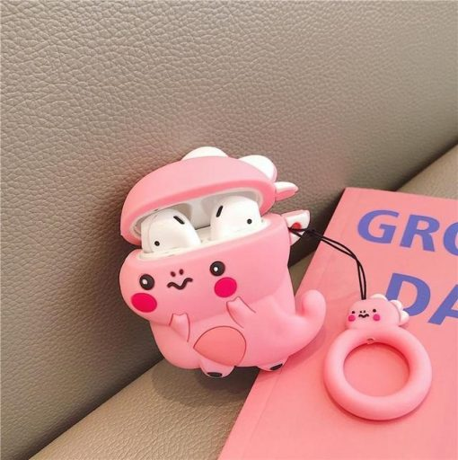 Pink Dragon Premium AirPods Case Shock Proof Cover