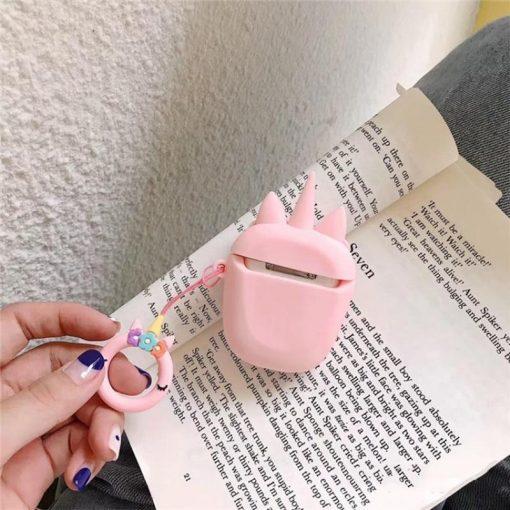 Pink Unicorn Premium AirPods Case Shock Proof Cover