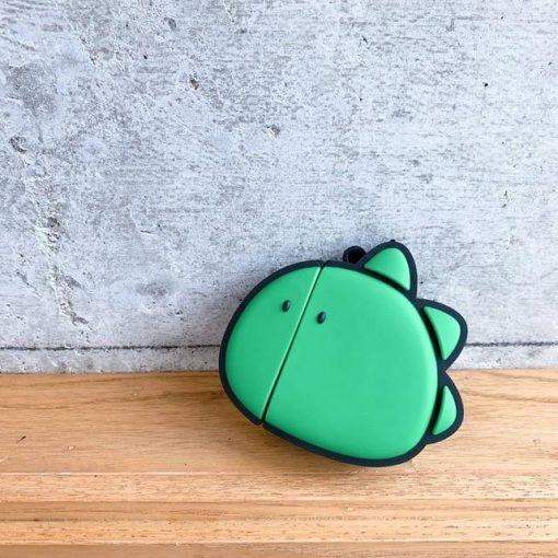 Cute Comic Dino Premium AirPods Case Shock Proof Cover