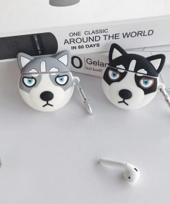 Black Wolf Premium AirPods Case Shock Proof Cover