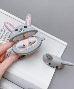 Cute Bunny Premium AirPods Case Shock Proof Cover