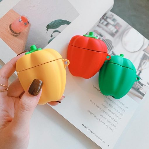 Red Bell Pepper Premium AirPods Case Shock Proof Cover