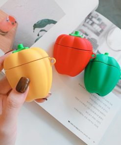 Green Bell Pepper Premium AirPods Case Shock Proof Cover
