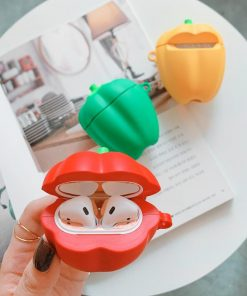 Yellow Bell Pepper Premium AirPods Case Shock Proof Cover