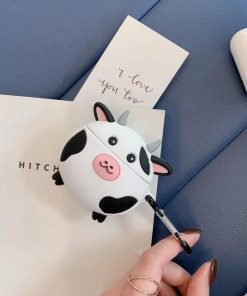 Cute Cow Premium AirPods Case Shock Proof Cover