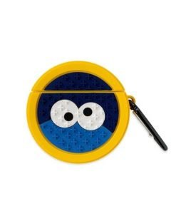 Round Cookie Monster Premium AirPods Case Shock Proof Cover