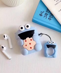 Sesame Street 'Baby Cookie Monster' Premium AirPods Case Shock Proof Cover
