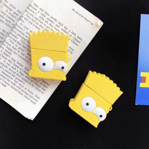 The Simpons 'Bart Simpson' Premium AirPods Case Shock Proof Cover