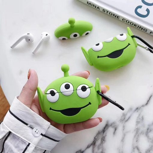 Toy Story Martian 'The Claw' Premium AirPods Case Shock Proof Cover
