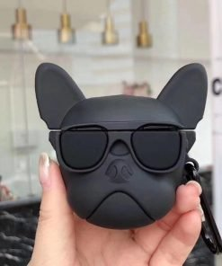 Bulldog 'Black' Premium AirPods Case Shock Proof Cover