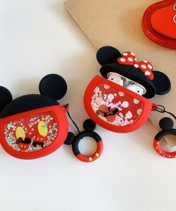 Minnie Mouse 'Snowglobe' Premium AirPods Case Shock Proof Cover