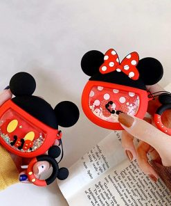 Mickey Mouse 'Snowglobe' Premium AirPods Case Shock Proof Cover