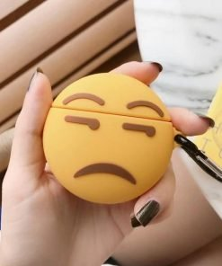 Side Eye Emoji Premium AirPods Case Shock Proof Cover