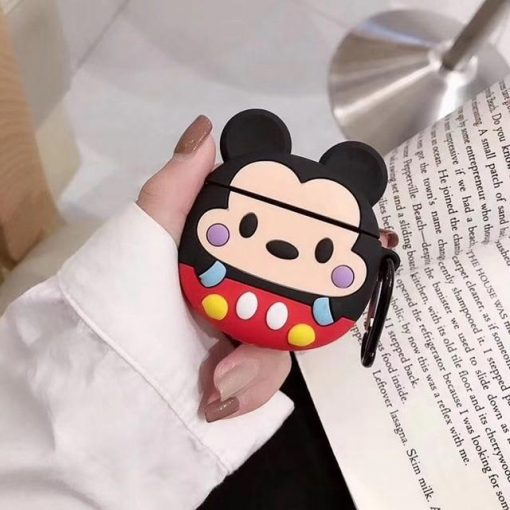 Cute Baby Mickie Mouse Premium AirPods Case Shock Proof Cover