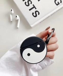 Ying and Yang Premium AirPods Case Shock Proof Cover