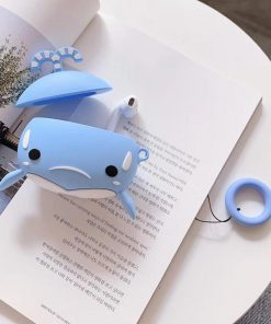 Frowny Whale Premium AirPods Case Shock Proof Cover