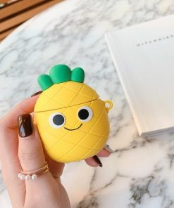 Happy Pineapple Premium AirPods Case Shock Proof Cover