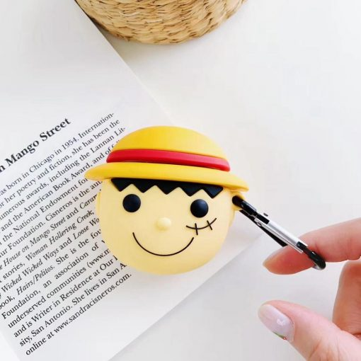 One Piece 'Luffy' Premium AirPods Case Shock Proof Cover