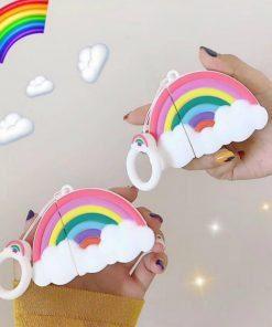 Cute Rainbow Premium AirPods Case Shock Proof Cover