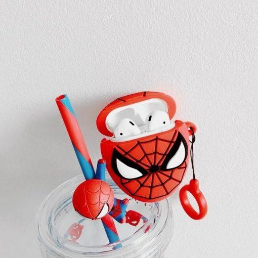 Teen Spiderman Premium AirPods Case Shock Proof Cover