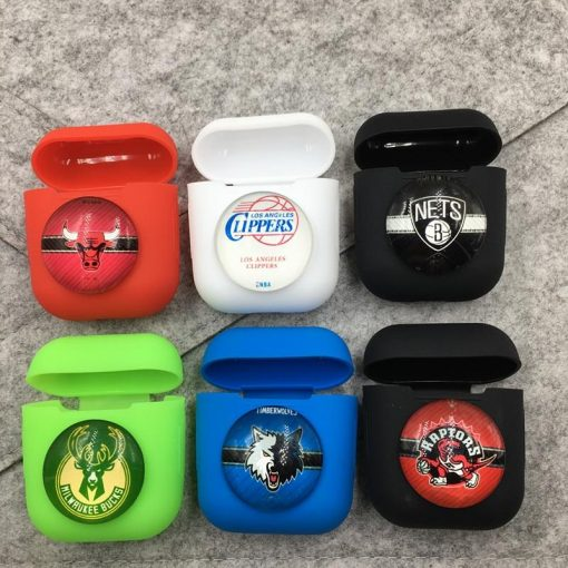 Brooklyn Nets Airpods Case Shock Proof Cover
